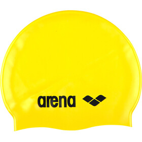 arena Classic Silicone Badehætte, yellow/black